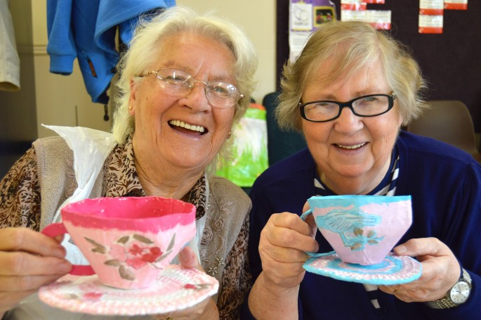 Impact arts impact arts blog older people s project for Crafts for older adults