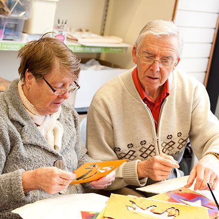 Image of: Old Man Craft Cafe Edinburgh Impact Arts Impact Arts Older People